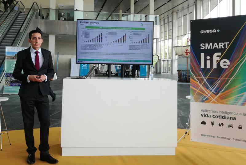 La plataforma Gridpilot fue presentada oficialmente en el II Foro Global de Gobiernos Locales celebrado en Sevilla.