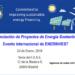 Evento Internacional de EnerInvest sobre financiación de proyectos de energía sostenible
