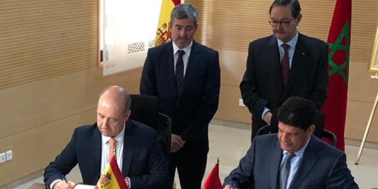 Representantes de los Gobiernos de Marruecos y Canarias