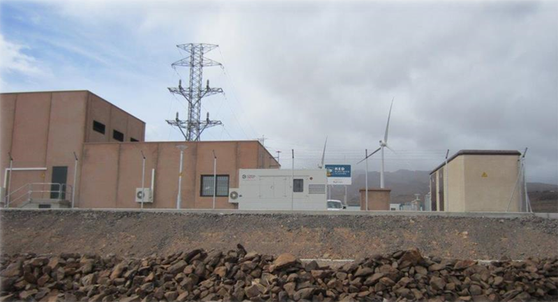 Subestación eléctrica Agüimes