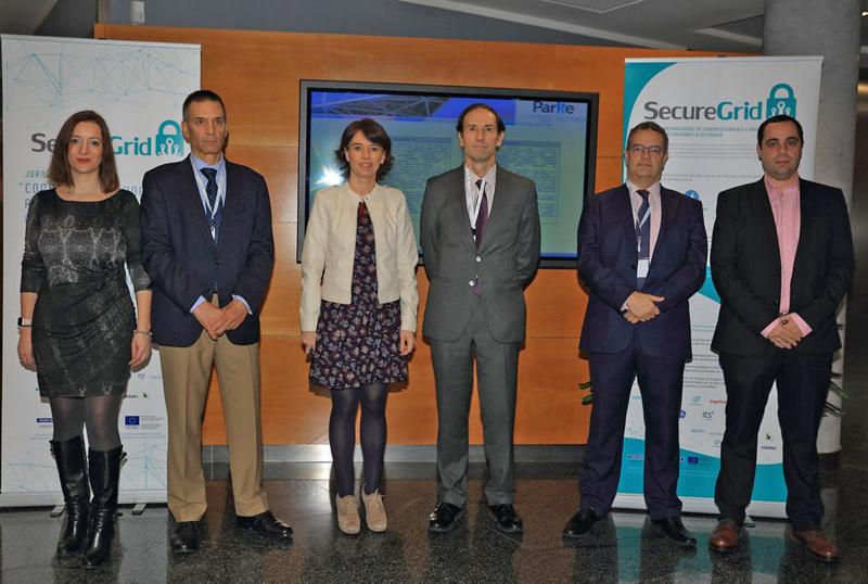 """• Los socios han presentado los resultados del proyecto en una jornada organizada en el Parque Tecnológico de Bizkaia bajo el título: """"Construyendo una red eléctrica más cibersegura""""."""