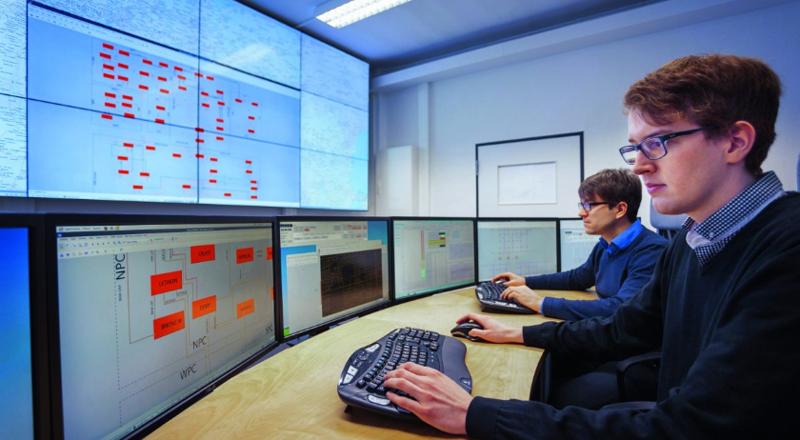 Centro de control dinámico DynaGridCenter desarrollado por Siemens.