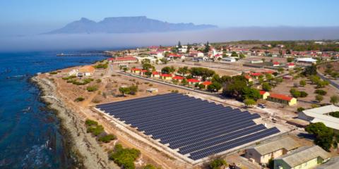 Microrred, paneles solares, baterías y telegestiónhacen posible la autosuficiencia energética de la remota Isla Robben