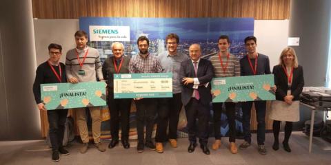 Alumnos de ingeniería eléctrica de la UPV ganan el primer Desafío SIMARIS Design de Siemens