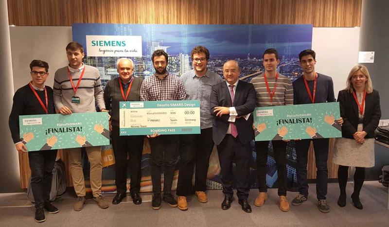 El equipo ganador está compuesto por los estudiantes Pablo Marino Velasco Plá, José Pablo Ferrer Báguena y el profesor Carlos Roldán Porta, ha sido el galardonado.