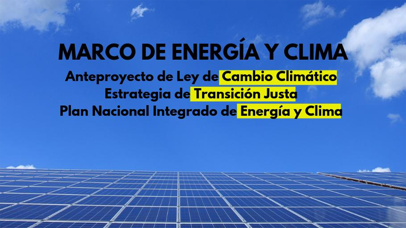 Marco de Energía y Clima