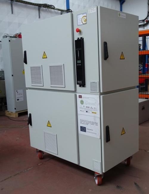 Figura 1. Convertidor B2B para aerogeneradores 100 kW (ELINSA).