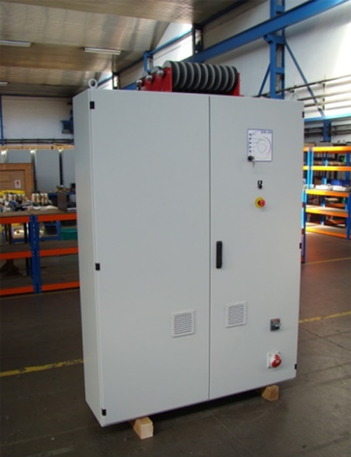 Figura 2. Convertidor para sistemas de baterías 100 kW (ELINSA).