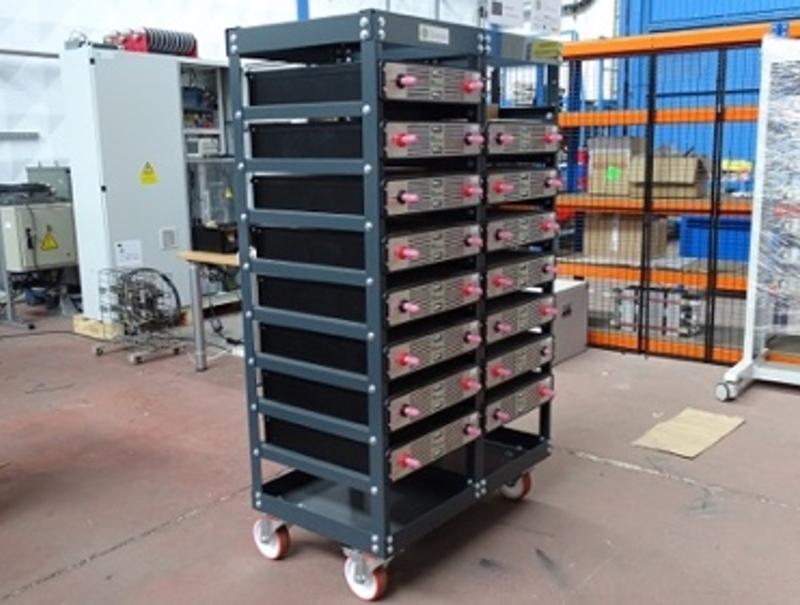 Figura 3. Stack de baterías (ELINSA).