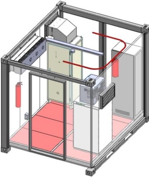 "Figura 4. Proyecto ""Energy Storage System"" (ELINSA)."