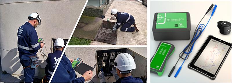 Figura 3. Técnicos especializados y herramientas de campo desarrolladas por Arkossa.