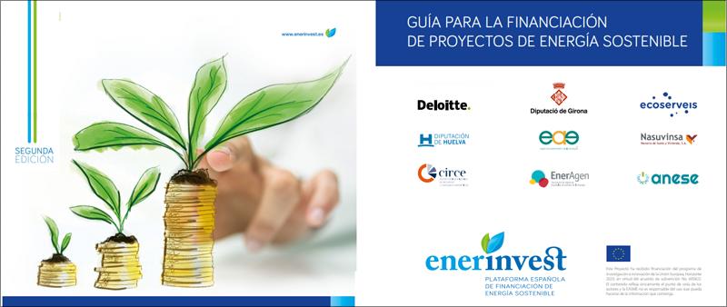 Segunda edición de la guía de EnerInvest sobre proyectos de energía sostenible.