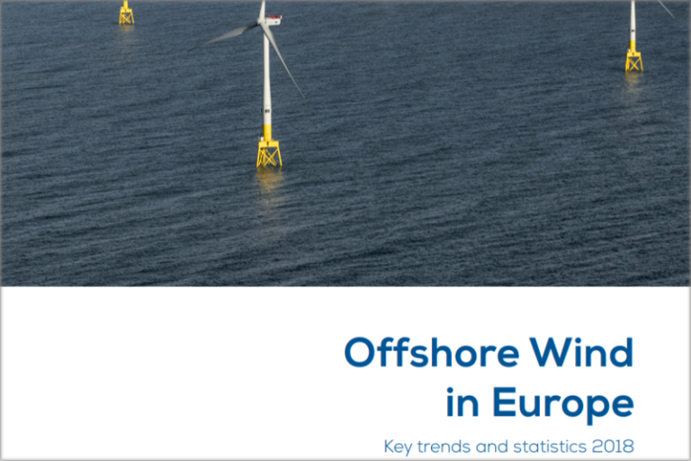 "Informe ""Offshore Wind in Europe Key trends and statistics 2018"""