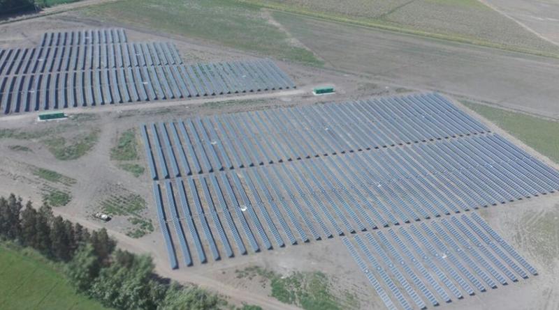 Parque fotovoltaico de Gren