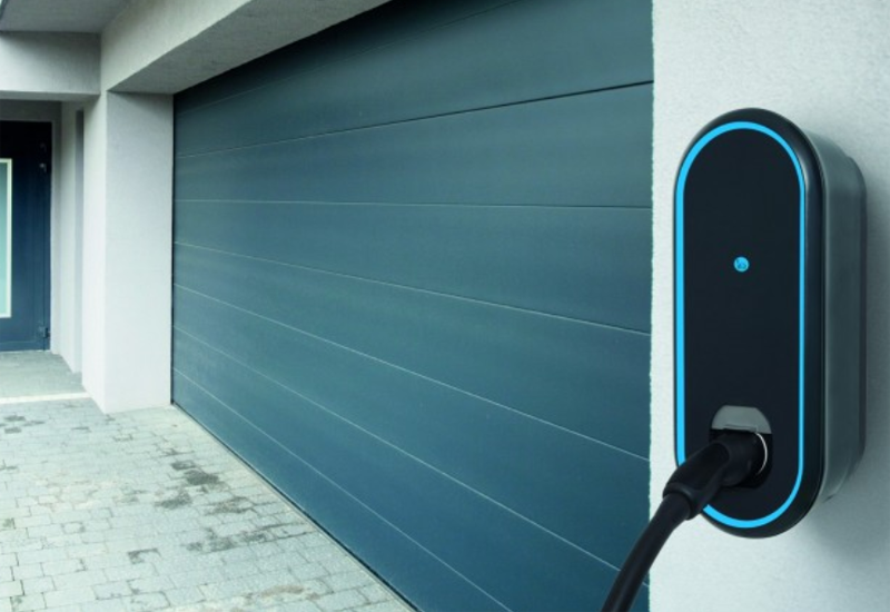 Punto de carga inteligente eMobility de Innogy.