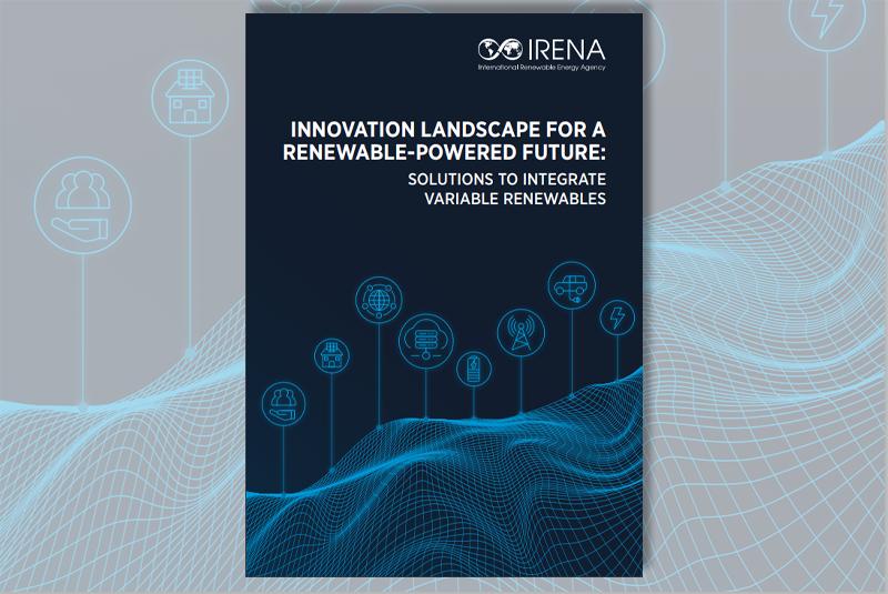 Portada del informe de Irena sobre las innovaciones en el sector eléctrico.