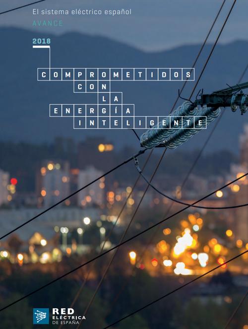 Portada del avance del informe del sistema eléctrico español.