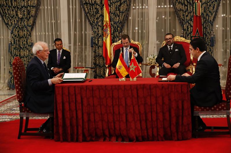 Firma del firma del Memorándum de Entendimiento para el establecimiento de una Asociación Estratégica Global entre el Reino de España y el Reino de Marruecos