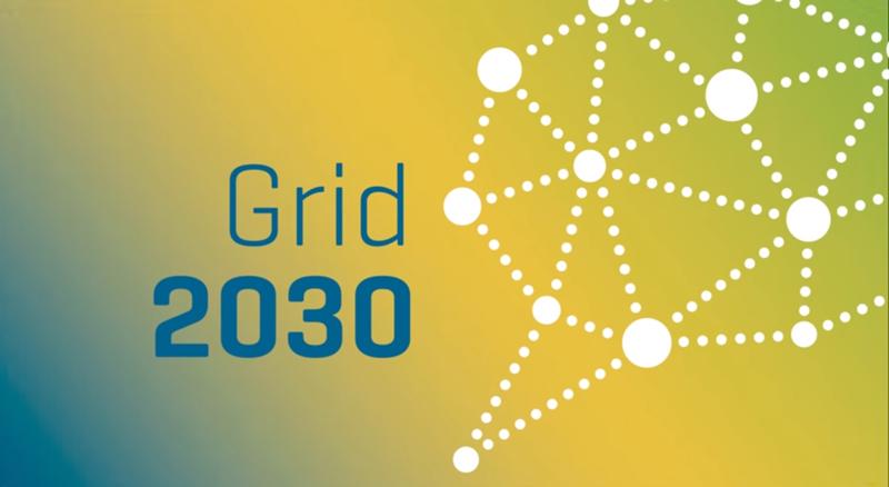 Logo de Grid2030.