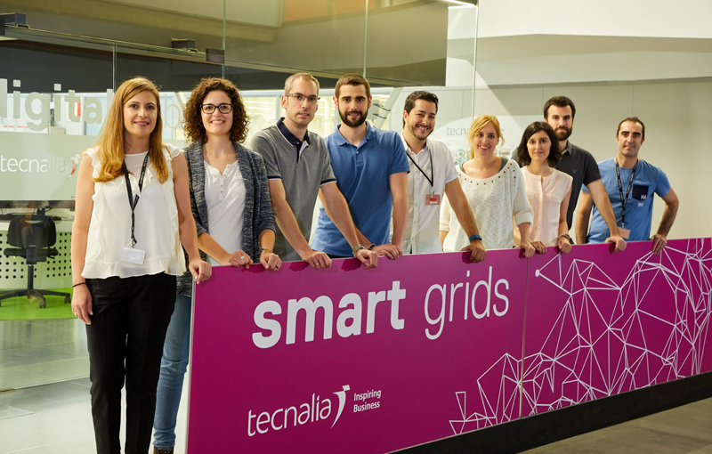 Laboratorio de Smart Grids de Tecnalia.