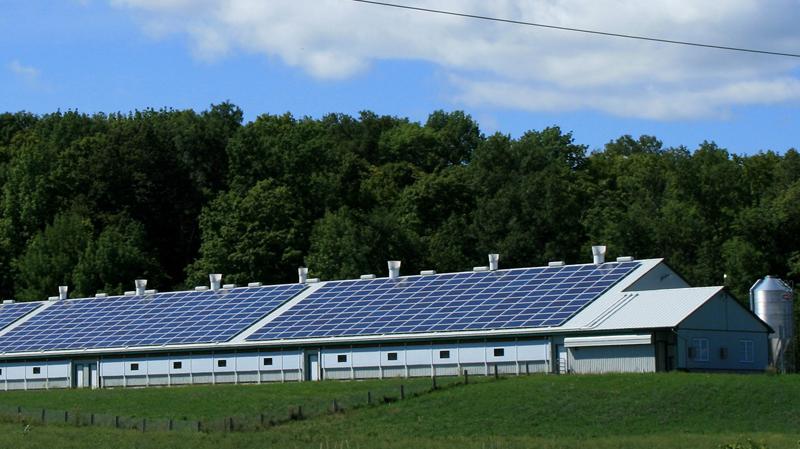 Placas fotovoltaicas sobre cubierta