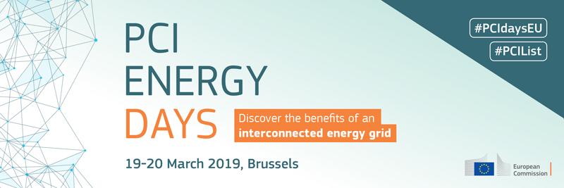 Anuncio del PCI Energy Days. Bruselas, 19 y 20 de marzo.