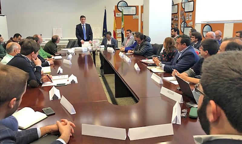 Constitución de la Mesa de la Movilidad Eléctrica de Extremadura.