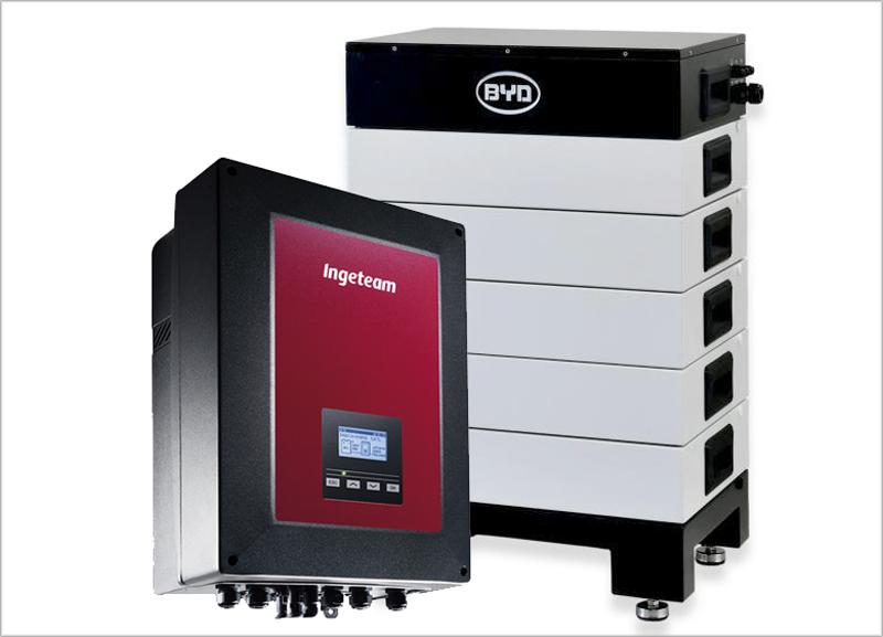 Ingeteam y BYD desarrollan una solución en la que mezclan el almacenamiento de energía con la generación de la energía.