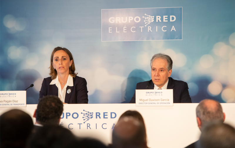 Acto de presentación de Red Eléctrica de España