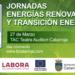 Jornada sobre Energías Renovables y Transición Energética en el municipio valenciano de Catarroja