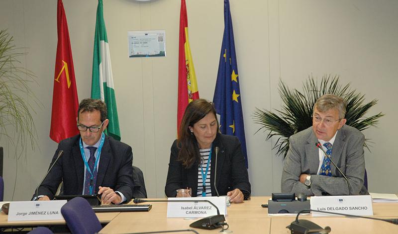 Imagen de la reunión en Sevilla