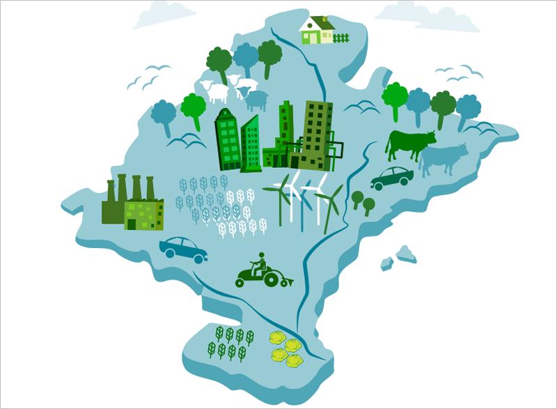 Cualquier persona o entidad puede presentar sus alegaciones y sugerencias al texto del anteproyecto de Ley Foral de Cambio Climática y Transición Energética hasta el próximo 17 de abril.