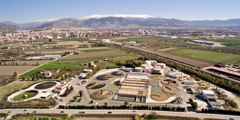 Figura 1. Imagen aérea de la Biofactoría Sur.