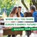 Los Energy Days de la Semana de la Energía Sostenible de la UE se celebrarán en mayo y junio