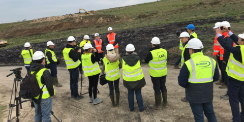 Comienzan las obras de construcción del mayor parque solar fotovoltaico de Euskadi