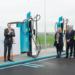 El primer punto de recarga ultrarrápida de la Península se encuentra en una estación de servicio de Repsol en Álava