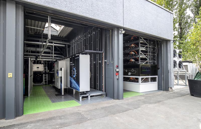 unidad de almacenamiento de baterías de Audi en Berlín