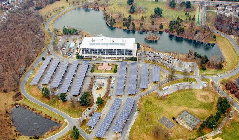 Edificio PSHQ en el Condado de Montgomery
