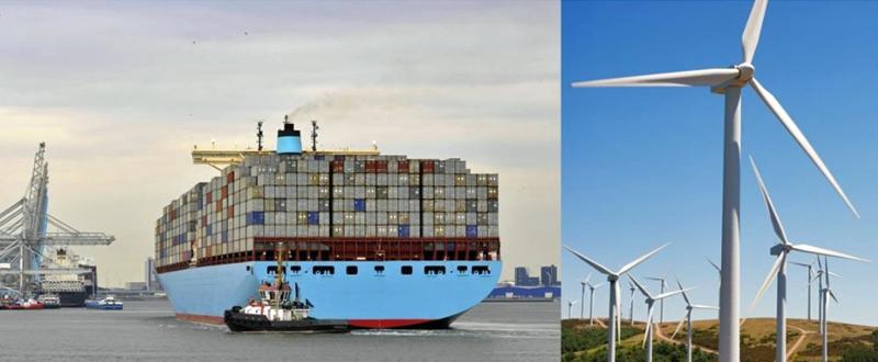 Puerto de Rotterdam y energías renovables