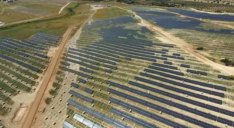 Vista aérea del proyecto de la futura planta fotovoltaica Francisco Pizarro