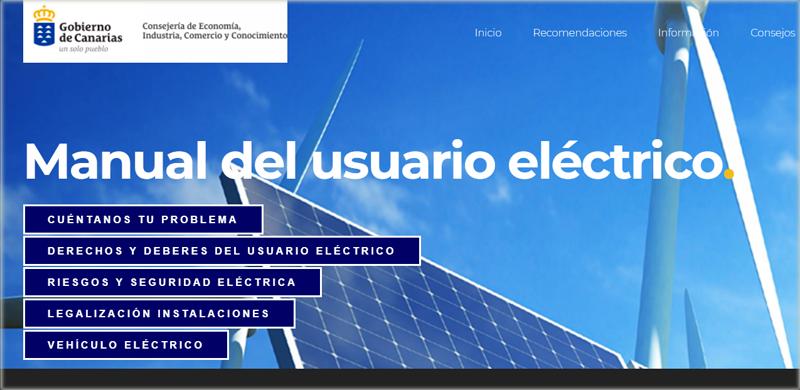 Manual del usuario eléctrico del Gobierno de Canarias
