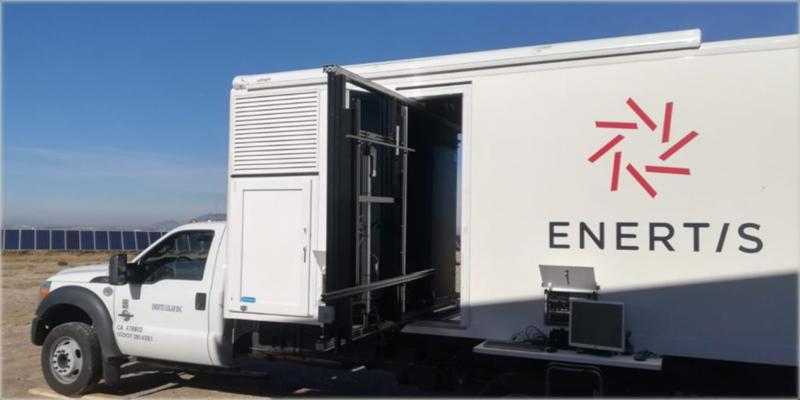 Laboratorio fotovoltaico móvil de Enertis