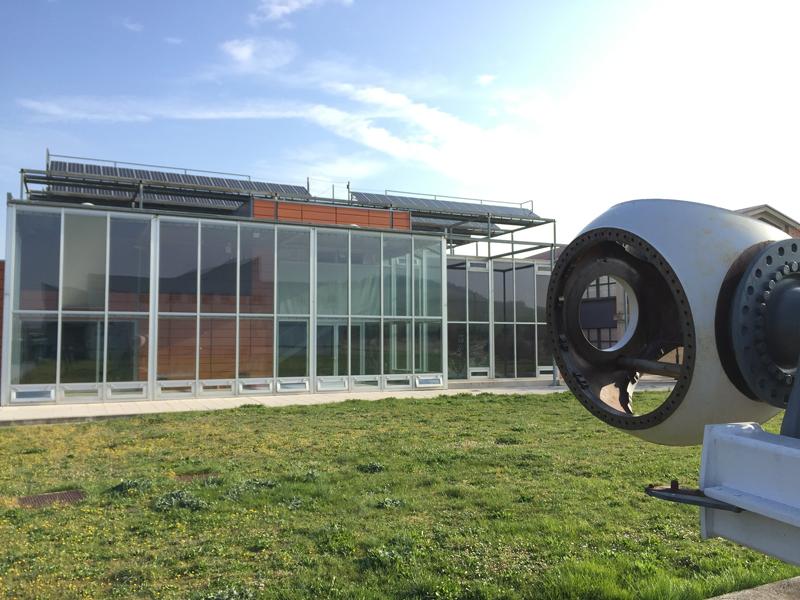 Centro de Referencia Nacional en Energías Renovables y Eficiencia Energética, ubicado en el municipio navarro de Imarcoáin