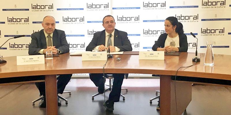 La Sociedad Pública de Gestión y Promoción Turística y Cultural del Principado de Asturias y la Fundación Asturiana de la Energía (Faen) han firmado el acuerdo por el que se instalarán puntos de recarga en zonas de interés turístico.