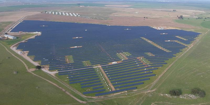 central fotovoltaica de Évora
