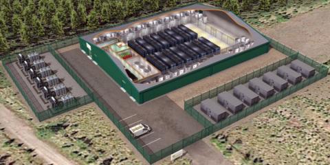 Luz verde al centro de almacenamiento de baterías para parques eólicos más grande del Reino Unido