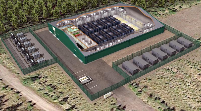 Futura planta de almacenamiento de baterías
