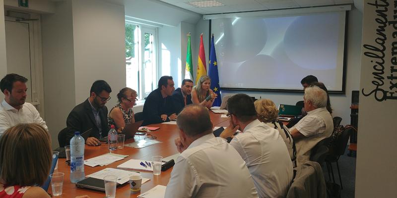 Reunión miembros consorcio proyecto europeo CSP ERA.NET coordinado por AGENEX para impulsar el desarrollo de la energía termosolar de concentración.
