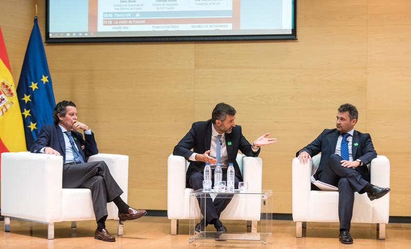 Santiago Bordiú, Gianluca Caccialupi y Raúl Suárez (Izquierda a derecha).