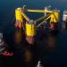 Comienza la fase de instalación de los aerogeneradores en la plataforma flotanteWindFloat en el puerto de Ferrol